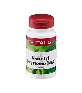 N-acetyl-L-cysteïne 600 mg 60 caps
