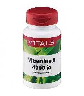 Vitamin A 4000IU 100 κάψουλες