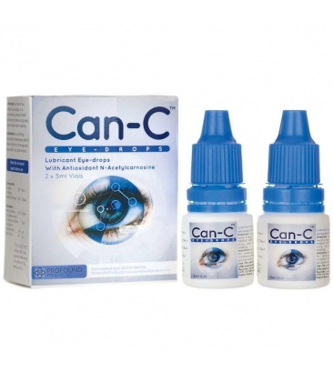 CAN-C EYE DROPS 2X5ml
