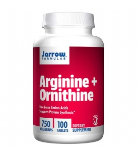 L-ARGININE 500mg & L-ORNITHINE 250mg