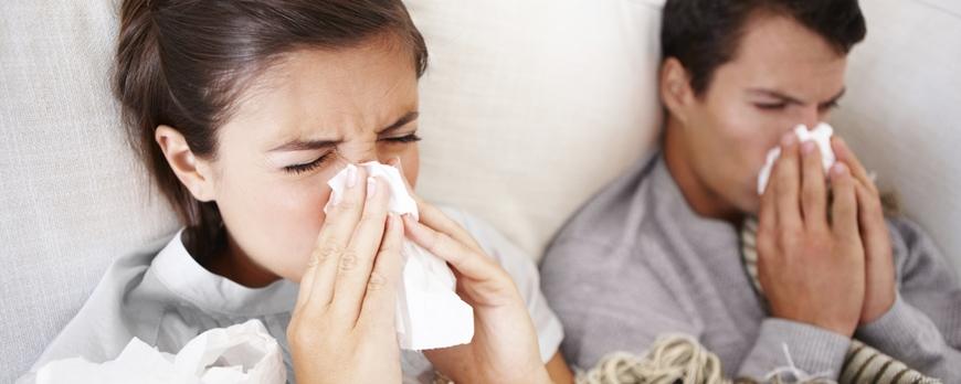 Απαλλαγείτε από το κρυολόγημα και τη γρίπη!