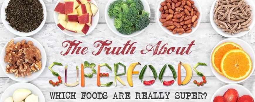 Superfoods - Οι τροφές που μας δυναμώνουν (infographic)