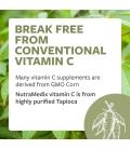 Vitamin C - NON-GMO, Corn Free 1000mg 120caps
