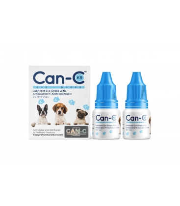 CAN-C EYE DROPS 2X5ml FOR PETS