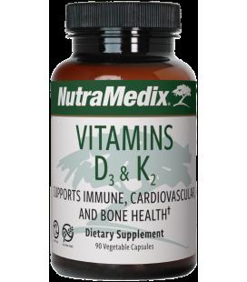 Vitamin D3 + K2 90caps
